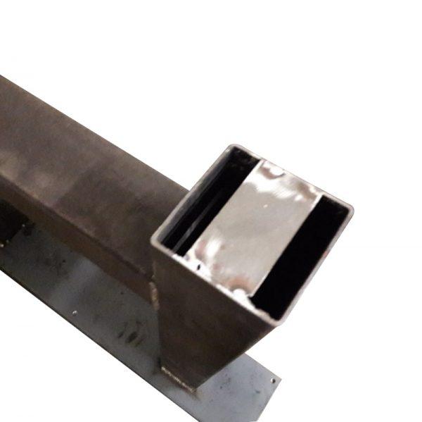 A-poot 10x10 cm - Industrieel onderaanzicht