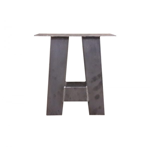 A-poot 8x8 cm - Industrieel - salontafelpoot