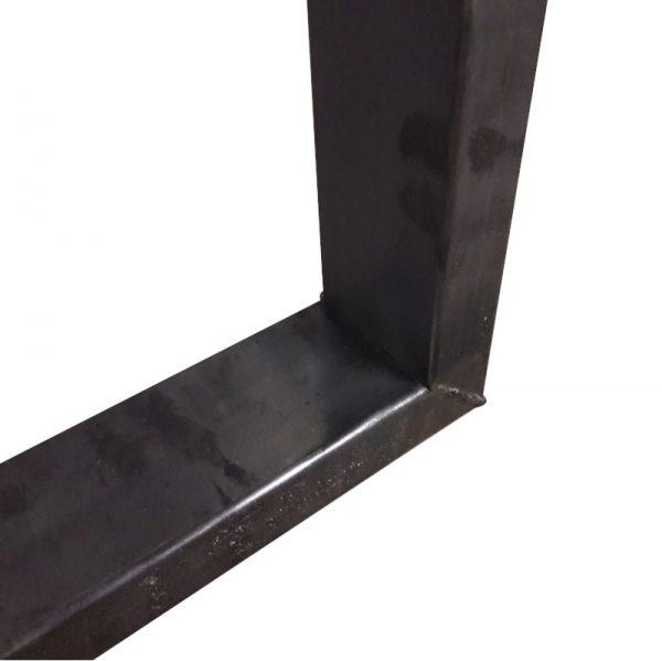 Industriële U-bartafelpoot-4x8cm