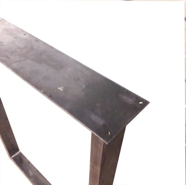 Industriële U-bartafelpoot-4x8cm-85