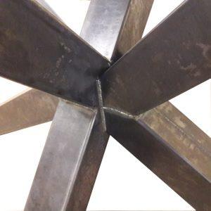 Matrixpoot - 85 x 140 cm - Industrieel detail