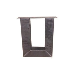 U-poot 8x8 cm - Industrieel voor salontafel of bankje