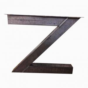 Z-poot 10x10 cm - Industrieel vooraanzicht