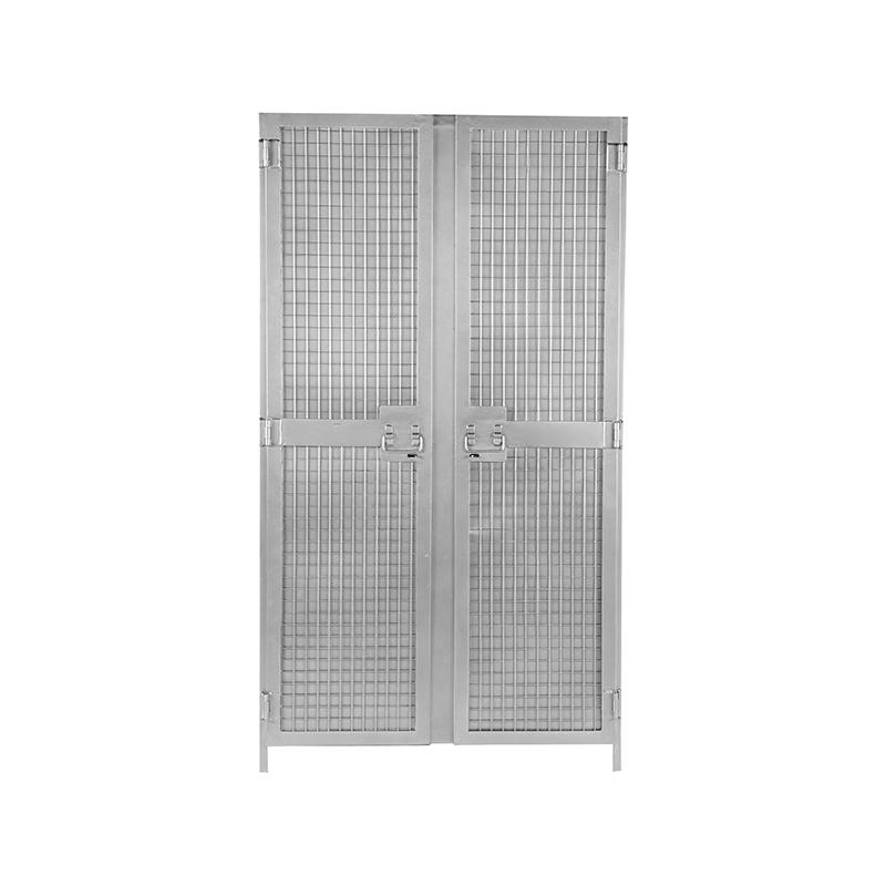 Label51 Hoge Kast Gate Vintage Metaal 100 Cm 2 Deurs